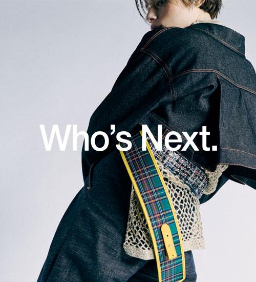 Exposez sur Who's Next